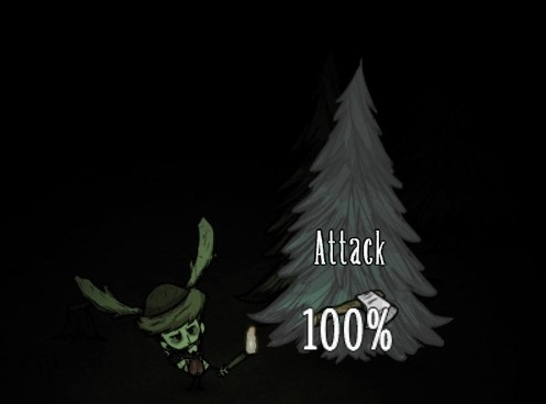 """File:Axe tooltip showing """"attack"""" on sleeping Treeguard.jpg"""