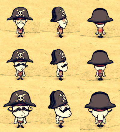 Pirate Hat Wolfgang