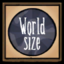 World Size Settings Icon