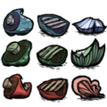 Unused Mushroom Inventory Icons
