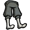 Colloidal Silver Gray Knee Pants Icon