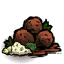 Garlic Meatballs