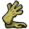 Sulfuric Yellow Long Gloves Icon