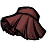 Wormgut Red Pleated Skirt Icon
