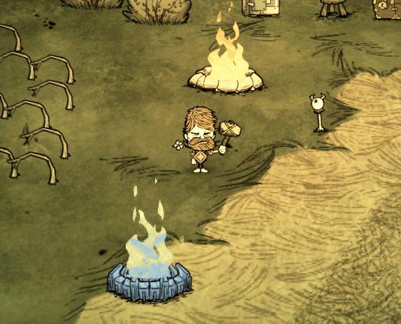 ファイル:Woodie Endothermic Fire Don't Starve.jpg