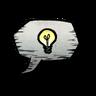 Lightbulb Emoticon Icon