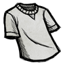 Smoke White T-Shirt Icon