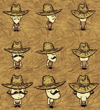 Straw Hat Wolfgang