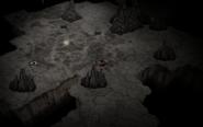 Bones in DST caves - spilagmite