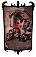 Broken Carriage Portrait Background