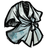 High Elevation Blue Silk Robe Icon