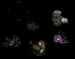 Woodie Guide Items