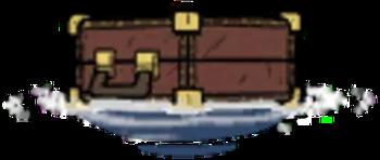 海上的旅行箱