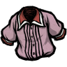 Pigman Pink Pleated Shirt Icon