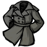 Stormcloud Gray Trench Coat Icon