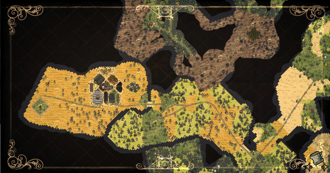 Image   World Map. | Don't Starve game Wiki | FANDOM powered by