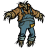 Straw-Stuffed Overalls Icon