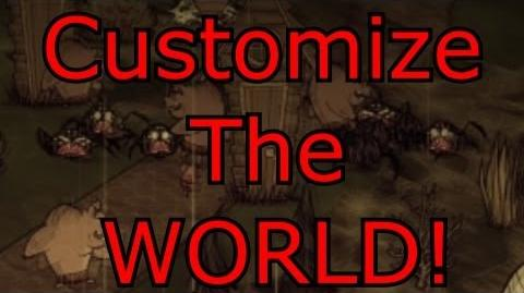 Don't Starve Guide How To Customize The World