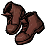 Firehound Red Ankle Boots Icon