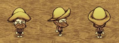 Rain Hat Woodie