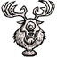 Figura del Ciervo Cíclope