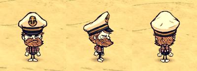 Captain Hat Woodie