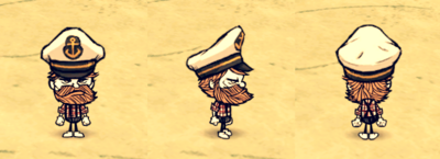 Captain Hat Woodie