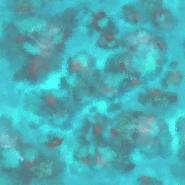 Coral Reef Terrain Texture