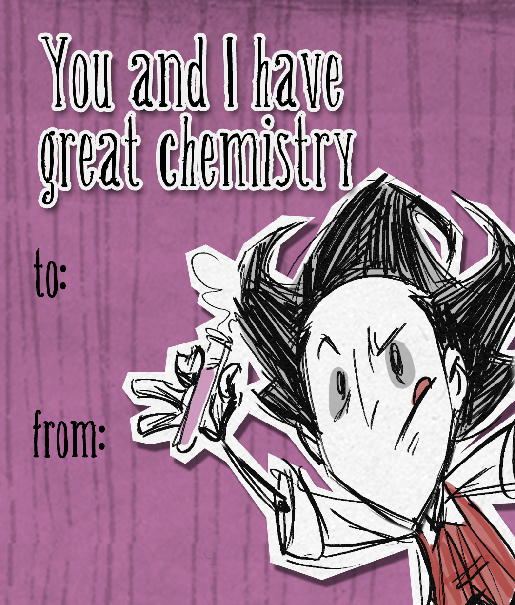 Image Willson Valentine Card Png Don T Starve Game Wiki Fandom