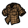 Lumberjack Orange Lumberjack Shirt Icon