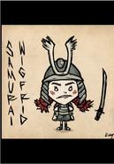 Wigfrid Samurai Skin