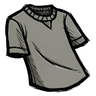 Cumulus Gray T-Shirt Icon