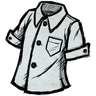 Ghost White Buttoned Shirt Icon