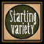 Starting Variety Settings Icon