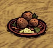 Garlic Meatballs Ground