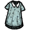 Anthropomorphic Feline Blue Nightgown Icon
