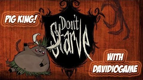 Don't Starve - Pig King