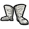 Pure White Riding Boots Icon