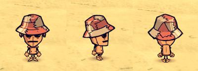 Snakeskin Hat WX-78