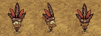Feather Hat Woodie