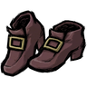 Nightmare Pink Buckled Shoes Icon