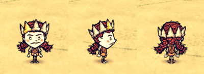 Shark Tooth Crown Wigfrid