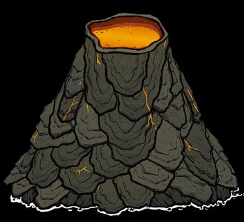 火山/物體