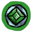 Green Moonlens Icon