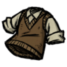 Sweater Vest Werebeaver Brown
