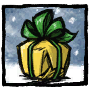 Golden Present Profile Icon