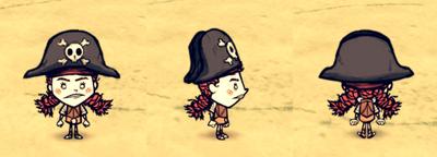 Pirate Hat Wigfrid