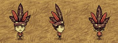 Feather Hat Walani
