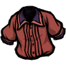 Higgsbury Red Pleated Shirt Icon