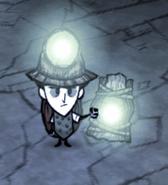 Lanternholding